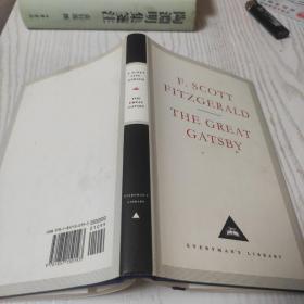 The great Gatsby (Everyman's library)人人文库  了不起的盖茨比
