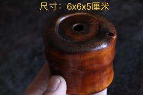 文房竹根雕刻文房水盂,造型独特,包浆浑厚,整棵竹根雕刻,包浆浑厚,保存完整,尺寸如图