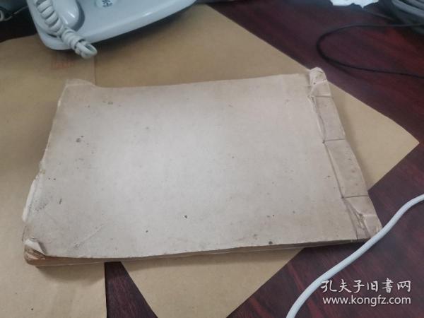 大开本《天成号》空白信笺纸一册,共计38多筒子页,空白册。上等信纸,纹理可观。五枚解放初期的印花税票。