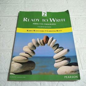 Ready to Write 2 Perfecting Paragraphs (Fourth Edition)(平装 16开 详情看图)