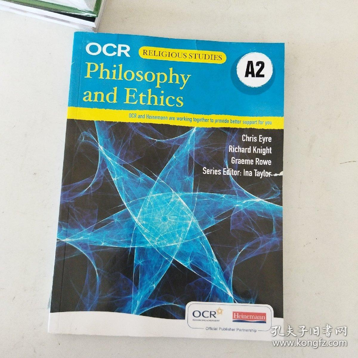 【外文原版】 OCR A2 Philosophy and Ethics  OCR A2哲学与伦理学