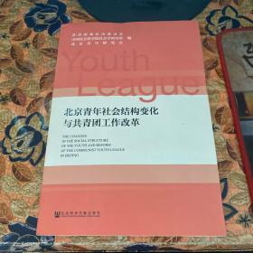 北京青年社会结构变化与共青团工作改革