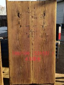 紫榆木风化大独板一对,自然风化纹理粗矿沧桑感十足,尺寸较大,可做茶台,装修佳品