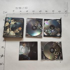 VCD 4张光碟 王力宏 《盖世英雄》 外壳破损,外壳基本没用了