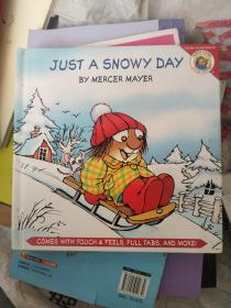 Little Critter: Just a Snowy Day [with Touch & Feel,Pull Tabs and More]小怪物:下雪天(触摸书)