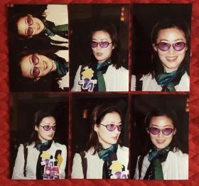 著名女演员 王思懿 原版老照片6枚附底片7张