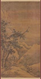 高焘(金 ) 寒林聚禽图轴美国克利夫兰艺术博物馆藏。纸本大小72.25*139.82厘米。宣纸艺术微喷复制。