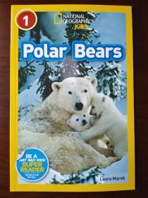 National Geographic Readers #2: Polar Bears 【正版全新】