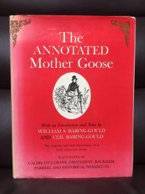 The Annotated Mother Goose -- 《鹅妈妈童谣》详注版 超大开本,插图丰富 Arthur Rackham,Walter Crane, Randolph Caldecott等大师的插图