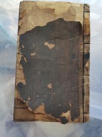 民国:新式国民学校国文教科书【第五册】木刻线装本 多图。