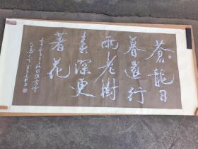 陕西著名书法家雷长安书法