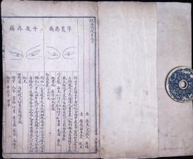《银海精微》民国三年上海普通书局石印,一套二册上下卷全,品相如图!《银海精微》寓本书乃富含眼科理法方药微妙精华之意。