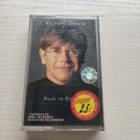 磁带      宝丽金世界巨星系列 埃尔顿 约翰-英国制造      有歌词