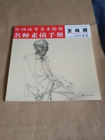 中国高等美术院校名师素描手册.王晓辉.线性素描