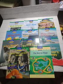 国家地理儿童百科 流利级 (10本+家长指南)11本合售