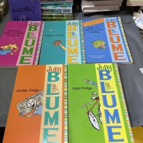朱迪布鲁姆幽默成长小说系列 Judy Blume's Fudge平装 英语启蒙认知绘本 5册全