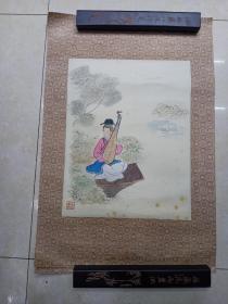 手绘士女画  3幅画合售,每幅一图(画心41 ×  29)