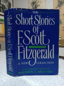 1989年,英文原版,精装带书衣,厚册,杰拉德短篇小说合集,the short stories of E. scoutt Fitzgerald