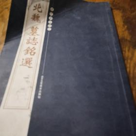 《北魏墓志铭选》16开 j