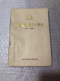 中共临沂党史大事记1921-1949