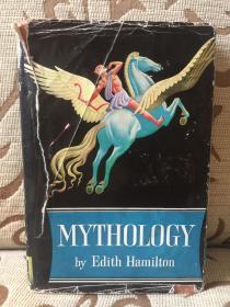 Mythology by Edith Hamilton -- 艾迪斯 汉密尔顿《神话》- little brown 1942出品 精装本