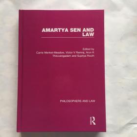 AMARTYA SEN AND LAW   PHILOSOPHERS AND LAW  阿玛蒂亚·森和法律 哲学家和法律   英文原版 精装 现货