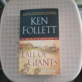 Fall of Giants【外文原版书,品相好】