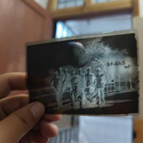 玄武湖秋景(底片一张)