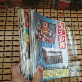 电子世界 1983年、1984年 全12期 自制合订本(共计24本书合售)