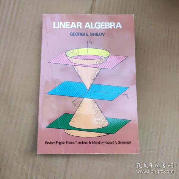 Linear Algebra(Dover Books on Mathematics)