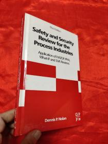 Safety and Security Review for the Process Industries工艺流程工业的安全检查 第3版