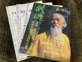 武魂 1993年第6、9、10、11期