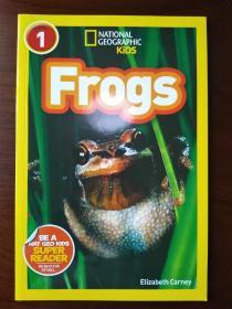 National Geographic Readers: Frogs!国家地理阅读:蛙 【正版全新】