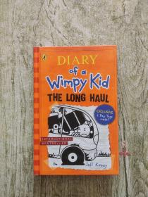 Diary of a Wimpy Kid #9: The Long Haul [Hardback] 小屁孩日记9:坏运气(英国版,精装)