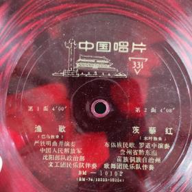 魚歌(1一2)老唱片(货43)