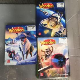Wonders Literature anthology 4、5、6【3本合售】(精装)