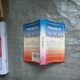 FrenchVocabulary(Barron'sforeignlanguagevocabulary)实物拍图 现货