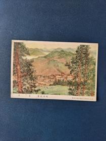 翠谷,1955年画片