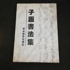 子涵书法集    吉林摄影出版社大八开精装本2005年一版一印仅印1000册