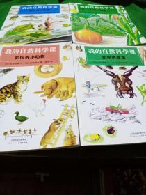 我的自然科学课:如何养小动物、如何养昆虫、如何种蔬菜、如何养水生物(四册合售)