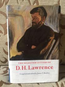 The selected letters of D.H.Lawrence -- 《劳伦斯书信选集》剑桥大学出版 精装本