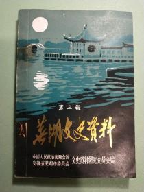 芜湖文史资料(第三辑)
