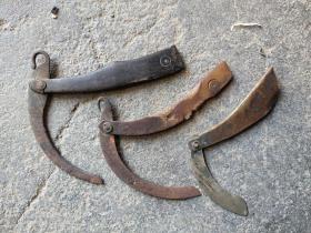 割大烟的工具