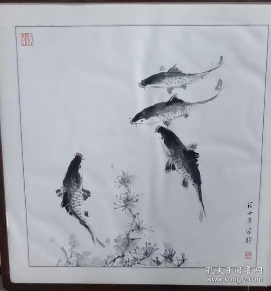 邓家驹画作~尺寸:68*68CM