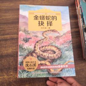 动物小说大王沈石溪守望生命书系 金蟒蛇的抉择