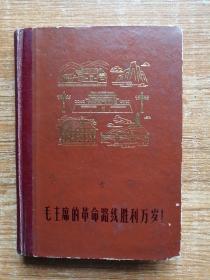 《毛主席的革命路线胜利万岁!》日记本。