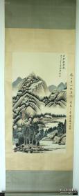 张大千    山水画  纯手绘  有著名鉴定专家徐邦达题款,