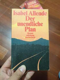 德文原版 德文原版 Der Unendliche Plan.Isabel Allende