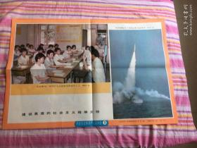 2开挂图北京焦化厂用共产主义思想培养青年工人,我国潜艇水下发射运载火箭成功