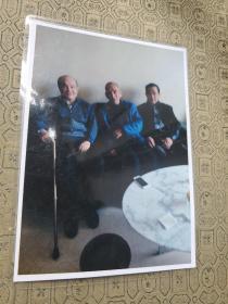 冯天瑜教授彩色合影照片1枚.